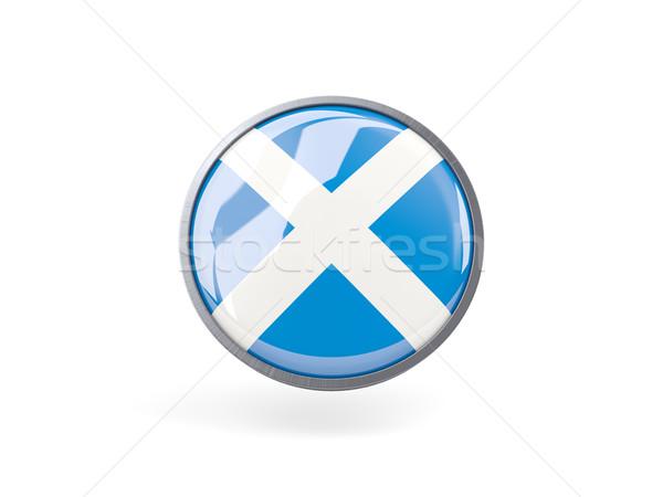 アイコン フラグ スコットランド 金属 フレーム 旅行 ストックフォト © MikhailMishchenko