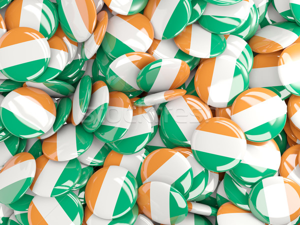 Pavillon Irlande fond pays broches cercle Photo stock © MikhailMishchenko