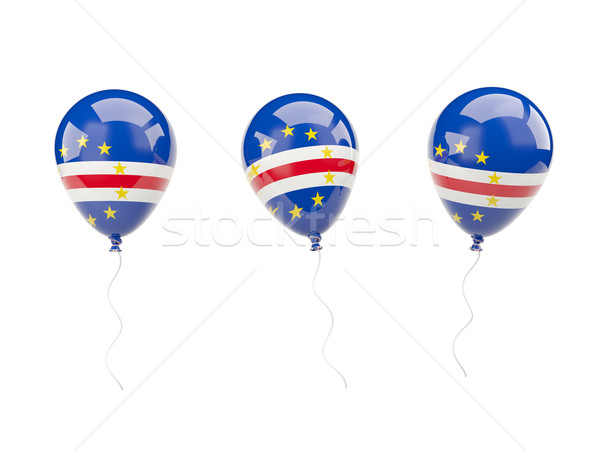 Air balloons with flag of cape verde Stock photo © MikhailMishchenko