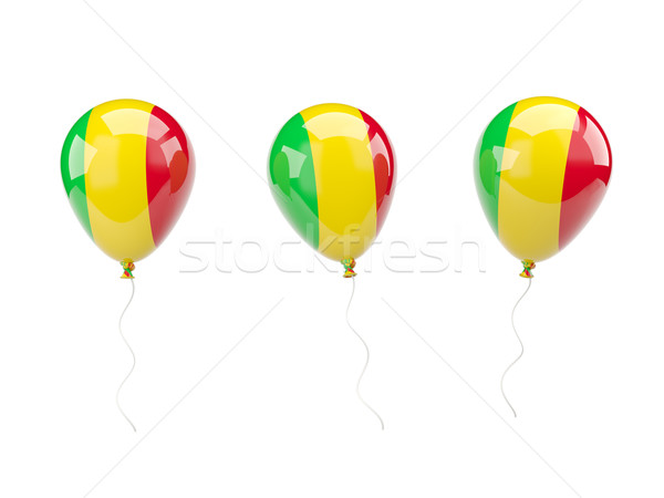 Air balloons with flag of mali Stock photo © MikhailMishchenko