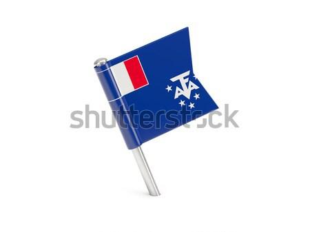 Bandeira pin Chile isolado branco viajar Foto stock © MikhailMishchenko