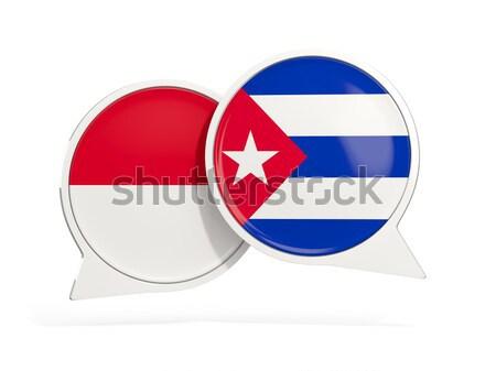 Sticker vlag Puerto Rico geïsoleerd witte reizen Stockfoto © MikhailMishchenko