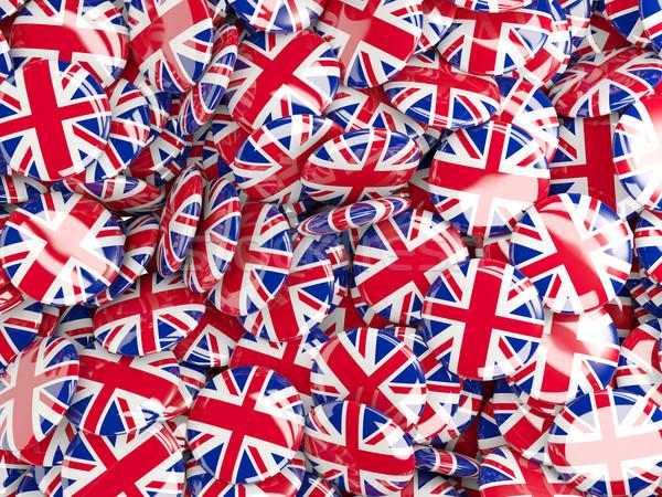Bayrak Büyük Britanya dünya arka plan seyahat ülke Stok fotoğraf © MikhailMishchenko