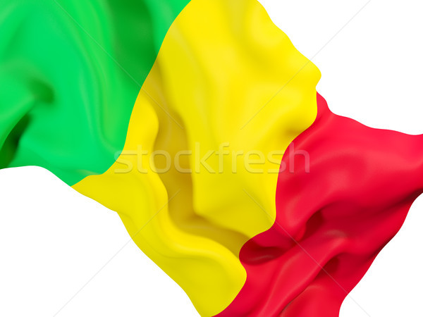 Waving flag of mali Stock photo © MikhailMishchenko