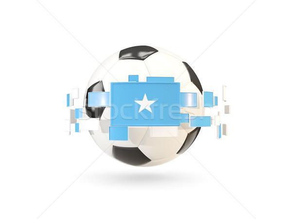 Ballon ligne drapeaux pavillon Somalie Photo stock © MikhailMishchenko