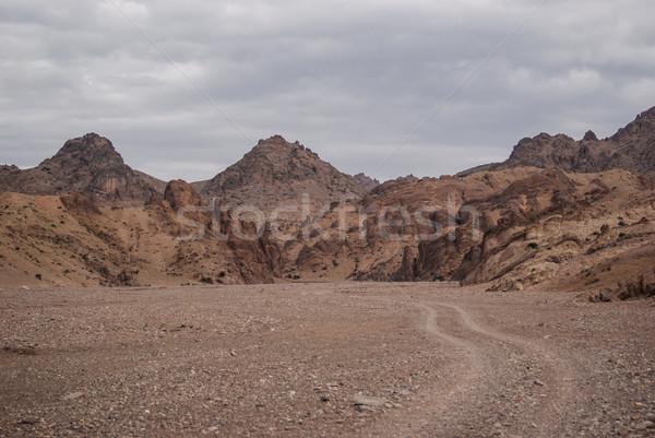 Plateau zuidwest Oost woestijn reizen land Stockfoto © MikhailMishchenko