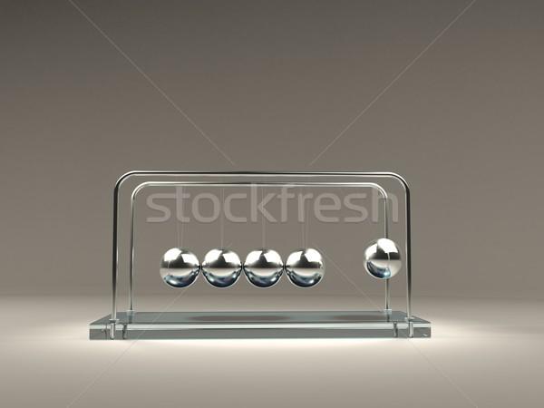 Balancing Newton's balls Stock photo © MikhailMishchenko