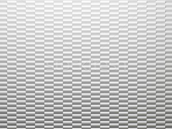 Biały metal streszczenie cylinder tekstury tle Zdjęcia stock © MikhailMishchenko