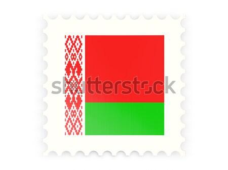 Postabélyeg ikon Banglades izolált fehér posta Stock fotó © MikhailMishchenko
