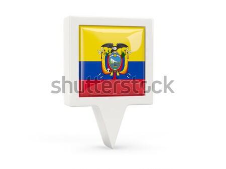 почтовая марка икона Эквадор изолированный белый почты Сток-фото © MikhailMishchenko