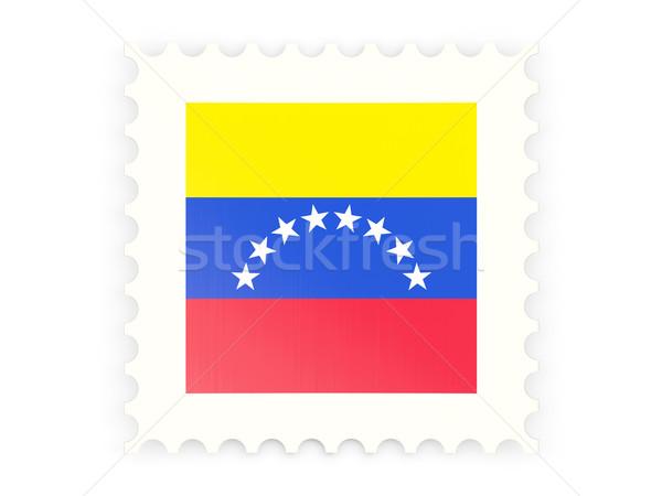 ícone Venezuela isolado branco assinar Foto stock © MikhailMishchenko