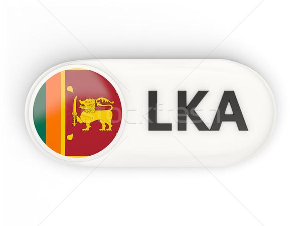 Ikon zászló Sri Lanka iso kód vidék Stock fotó © MikhailMishchenko