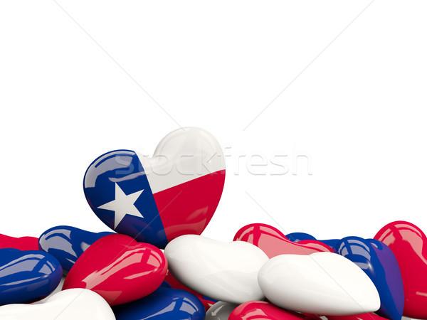 中心 テキサス州 フラグ 米国 ローカル ストックフォト © MikhailMishchenko