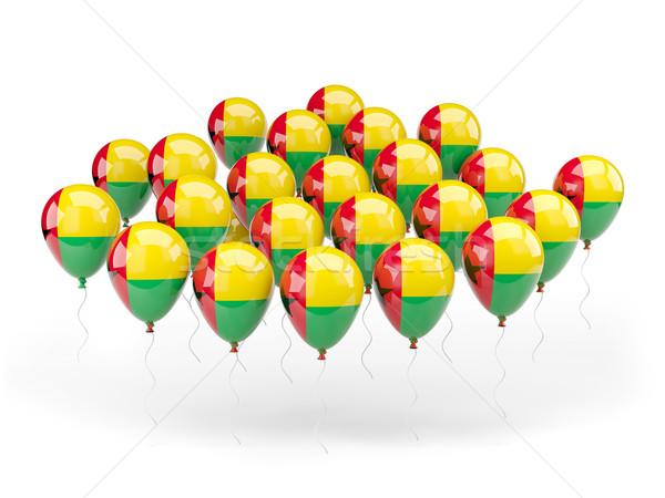 Balloons with flag of guinea bissau Stock photo © MikhailMishchenko