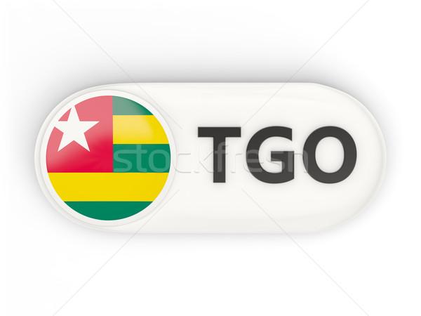 Icona bandiera Togo iso codice paese Foto d'archivio © MikhailMishchenko