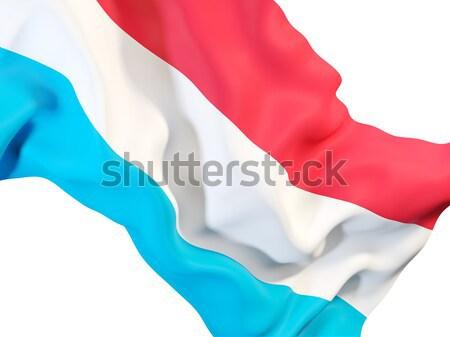 Integet zászló Chile közelkép 3d illusztráció utazás Stock fotó © MikhailMishchenko