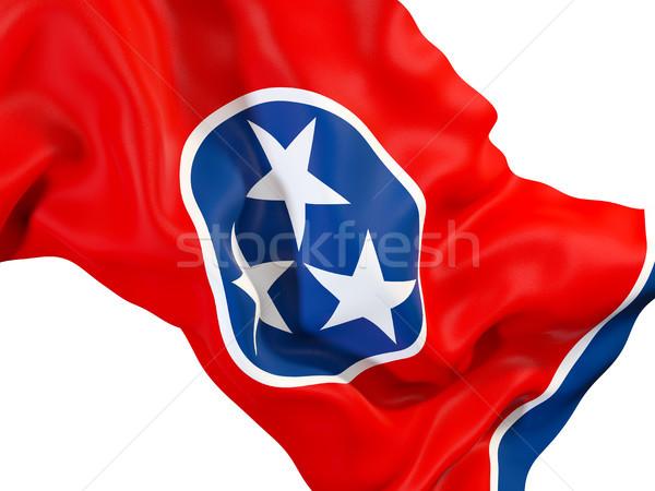 Tennessee pavillon États-Unis locale drapeaux Photo stock © MikhailMishchenko