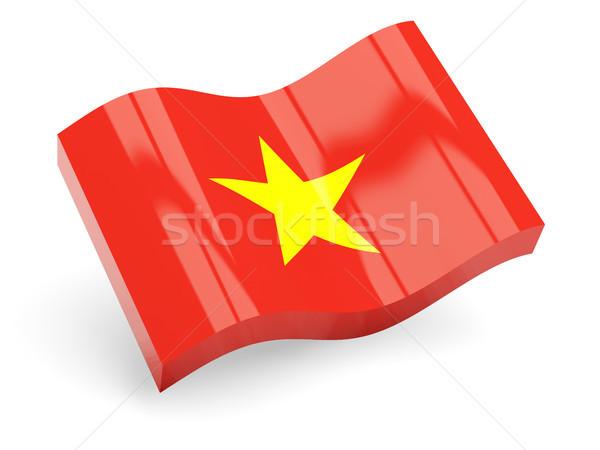 3D pavillon Viêt-Nam isolé blanche Voyage Photo stock © MikhailMishchenko