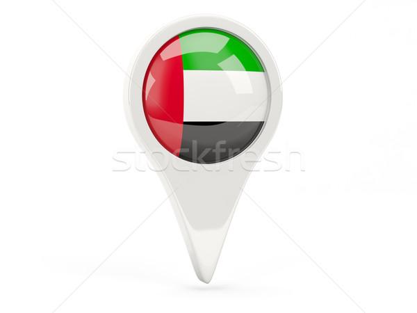 Round flag icon of united arab emirates Stock photo © MikhailMishchenko