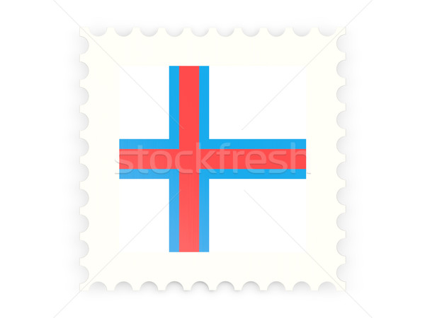 Postage stamp icon of faroe islands Stock photo © MikhailMishchenko