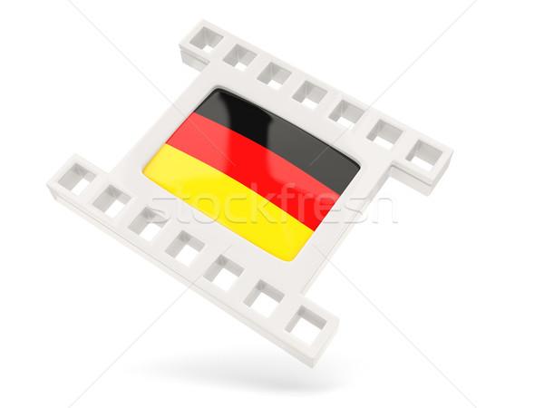 Movie icon with flag of germany Stock photo © MikhailMishchenko