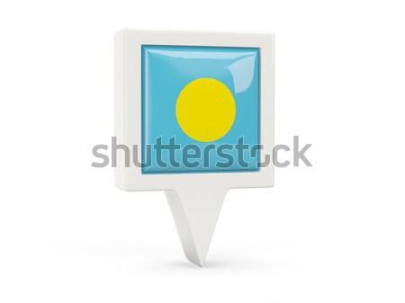 広場 金属 ボタン フラグ パラオ 孤立した ストックフォト © MikhailMishchenko