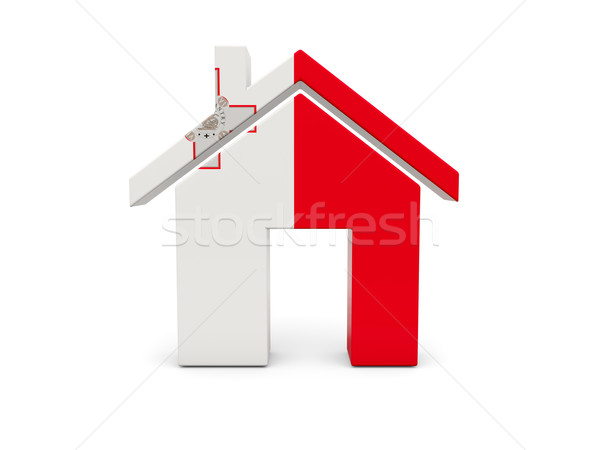 ホーム フラグ マルタ 孤立した 白 検索 ストックフォト © MikhailMishchenko