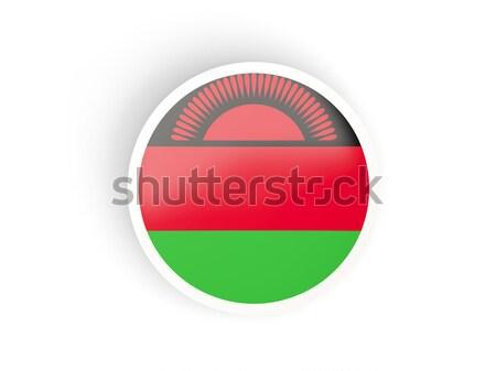 наклейку флаг Малави изолированный белый путешествия Сток-фото © MikhailMishchenko