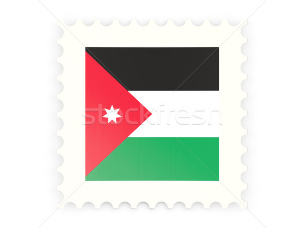 Postage stamp icon of jordan Stock photo © MikhailMishchenko
