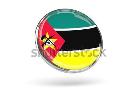 икона флаг Мозамбик изолированный белый путешествия Сток-фото © MikhailMishchenko