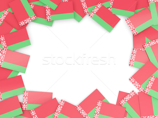 Frame with flag of belarus Stock photo © MikhailMishchenko