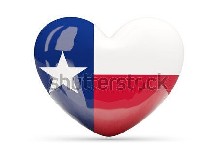 Heart shaped icon with flag of panama Stock photo © MikhailMishchenko