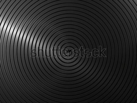 Ciemne metal pasiasty tekstury tle przemysłu Zdjęcia stock © MikhailMishchenko