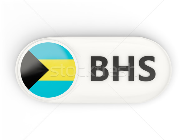 Round icon with flag of bahamas Stock photo © MikhailMishchenko