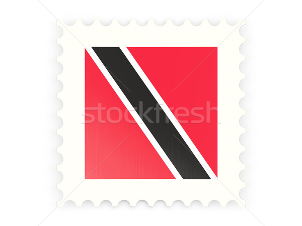 Postage stamp icon of trinidad and tobago Stock photo © MikhailMishchenko