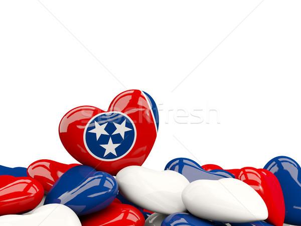 Coeur Tennessee pavillon États-Unis locale Photo stock © MikhailMishchenko