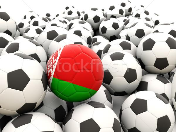 футбола флаг Беларусь регулярный лет Сток-фото © MikhailMishchenko