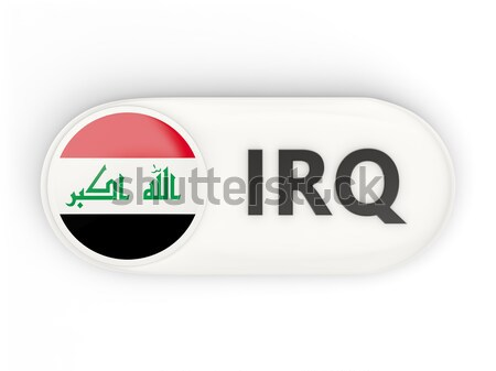 Round sticker with flag of maldives Stock photo © MikhailMishchenko