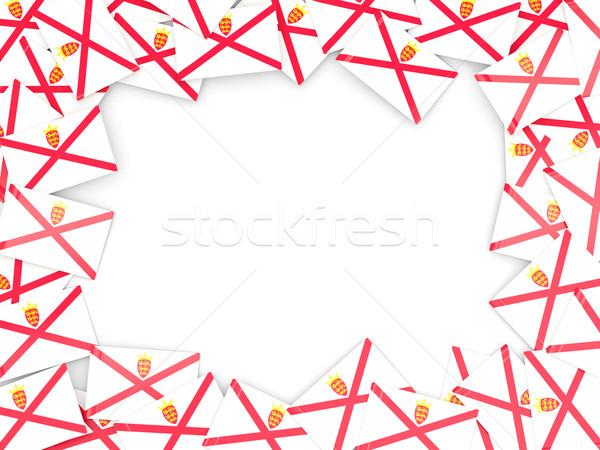 Frame with flag of jersey Stock photo © MikhailMishchenko