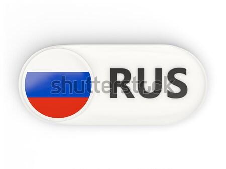 Foto stock: Amor · Rusia · signo · aislado · blanco · corazón