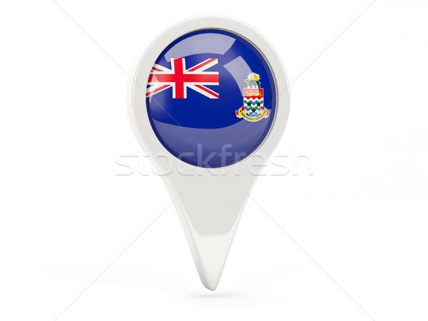 Round flag icon of cayman islands Stock photo © MikhailMishchenko