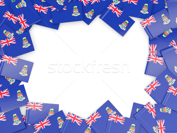 Frame with flag of cayman islands Stock photo © MikhailMishchenko