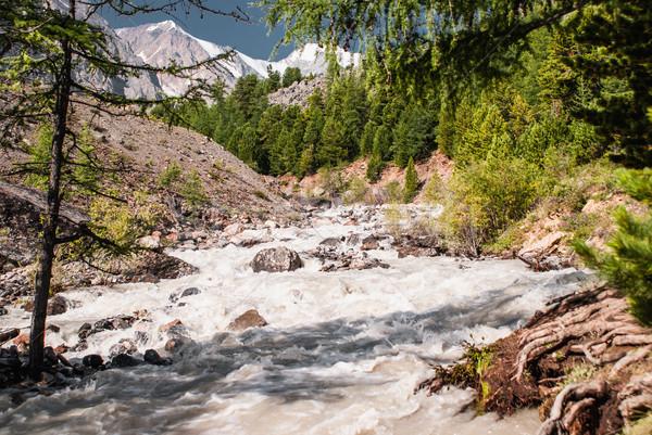 Сток-фото: альпийский · декораций · гор · центральный · Азии · походов