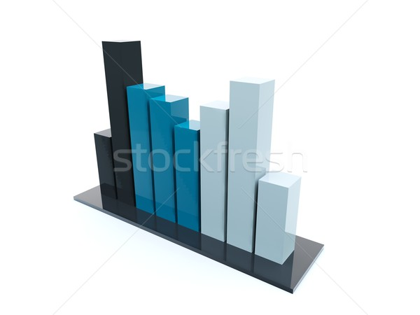 Business graph Stock photo © MikhailMishchenko