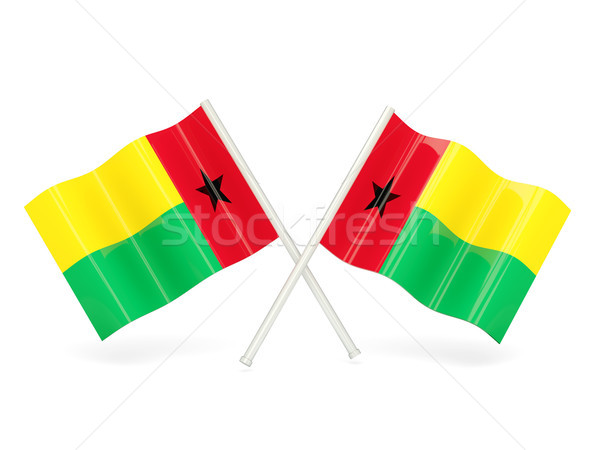 Flag of guinea bissau Stock photo © MikhailMishchenko