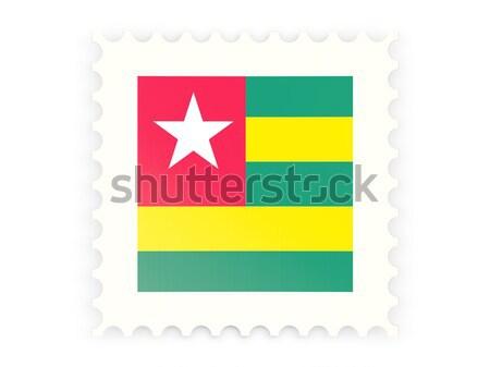Icona Togo isolato bianco segno Foto d'archivio © MikhailMishchenko