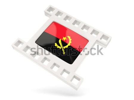 Movie icon with flag of albania Stock photo © MikhailMishchenko