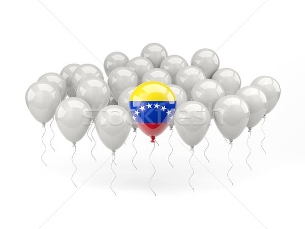 Air balloons with flag of venezuela Stock photo © MikhailMishchenko