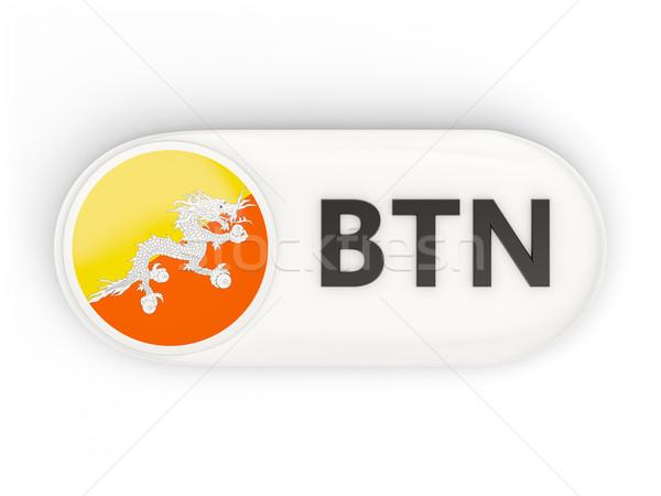 Icon vlag Bhutan iso code land Stockfoto © MikhailMishchenko