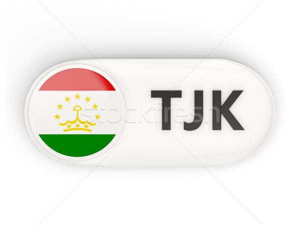 икона флаг Таджикистан iso Код стране Сток-фото © MikhailMishchenko